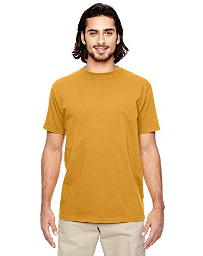 econscious Men's Organic Cotton Classic Short Sleeve T Shirt, Beehive, (Bee Fitted T-shirt)