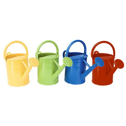 - Panacea 84830 Metal Traditional Painted Watering Can, 4-Liter or 1-Gallon, Colors may Vary