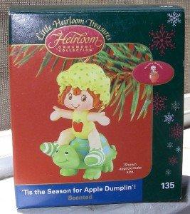 Strawberry Shortcake Christmas Ornament 2004 MIB Apple Dumplin]()
