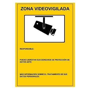 Cartel de plástico AC-Cartel-ES: Amazon.es: Bricolaje y ...