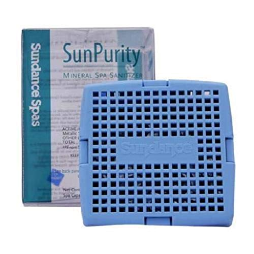 Hot Tub Mineral Sanitizer SpaPurity For Hot Tubs, Cleans and Clarifies - Spa Filter Cartridges Sundance