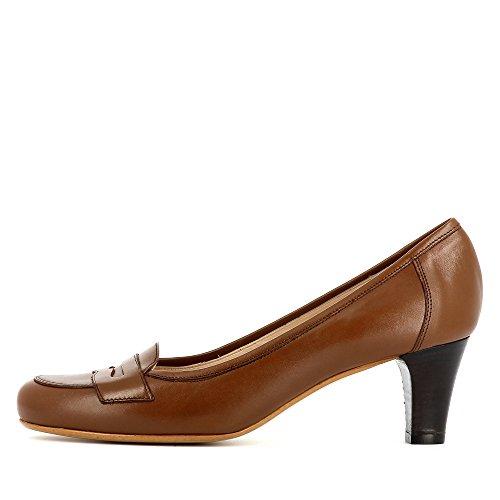 Evita Shoes Giusy - Zapatos de vestir de Piel para mujer marrón