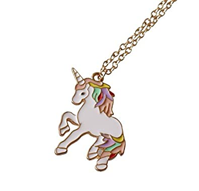 gemstone unicorn heart miss necklace a shop products