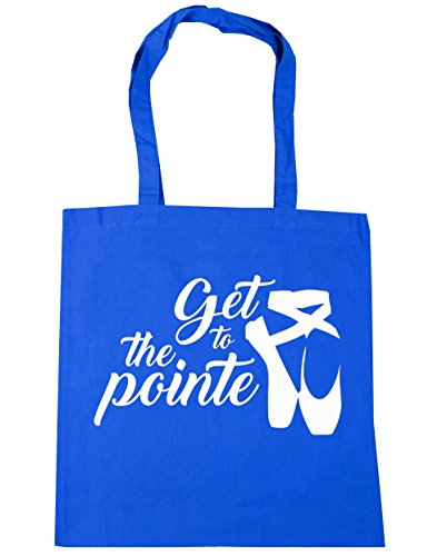 Blue Tote x38cm Ballet 10 the 42cm Shopping Bag Cornflower Gym Get HippoWarehouse litres Pointe Beach to 4fXwPTqZ