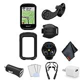 Garmin Edge 830 GPS Cycling/Bike Computer Mountain Bike Bundle – Accessories Bundle