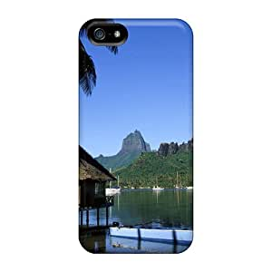 JosieGrilli Scratch-free Phone Cases For Iphone 5/5s- Retail Packaging - Cooks Bay Moorea Tahiti