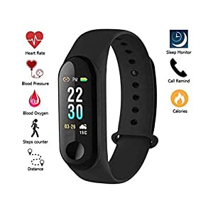 Sdeal Activity Tracker with Heart Rate Monitor – Red