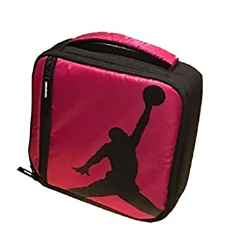 2a685a38b1 Amazon|NIKE Jordan Kids Lunch Tote Bag Black Pink  並行輸入品 ...