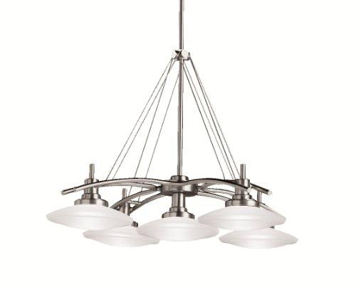 Kichler 2055NI Five Light Chandelier (Light Five Chandelier Structures)