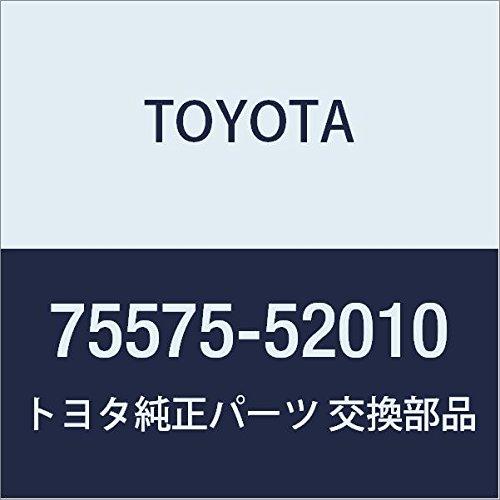 Genuine Toyota 75575-52010 Window Molding