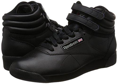 Reebok Lady Freestyle Hi Fitness Schoen Zwart