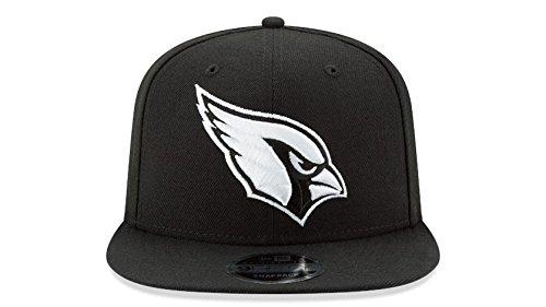 New Era Arizona Cardinals 9Fifty Black & White Logo Adjustable Snapback Hat NFL – DiZiSports Store