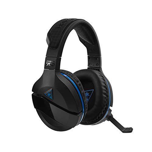 Turtle Beach Stealth 700 Premium Wireless Surround Sound Gaming Headset for PlayStation4 (Best New Xbox One Games Coming Out)