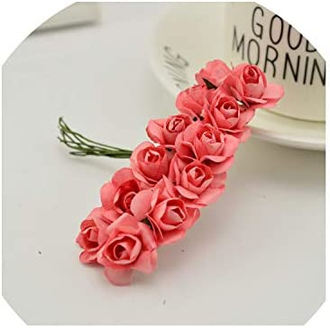 Amazon.com: 144pcs 0.6 in Mini Rosa Cabezas de Flores ...