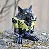 "Fiddlehead Fairy Garden ""Rocco the Wolfman / Werewolf"