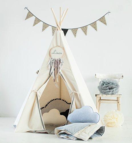 Tipi-Zelt Zelt IndianerZelt Zeltplatz Indianer Zelt Versteck Kinderzelt Tipi Teepee Spielort Spielzeug Spielzelte