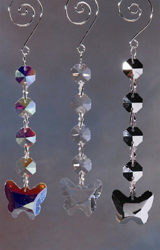 Firefly Imports Homeford Acrylic Chandelier Crystals Butterfly Link Iridescent