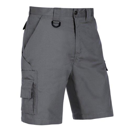 Blaklader 144718009400C50 Shorts, Size 34/32, Grey