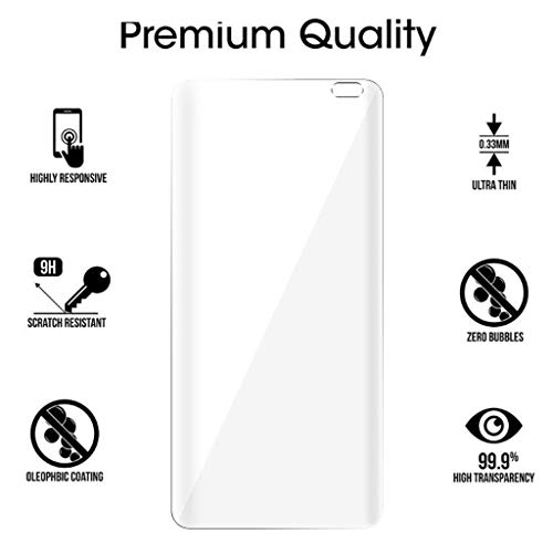 Hot Sale! Cyhulu 2019 New Fashion Soft TPU Cover Screen Film Protector for Samsung Galaxy S10 Plus 6.4 inch Smart Phone by Cyhulu (Image #2)
