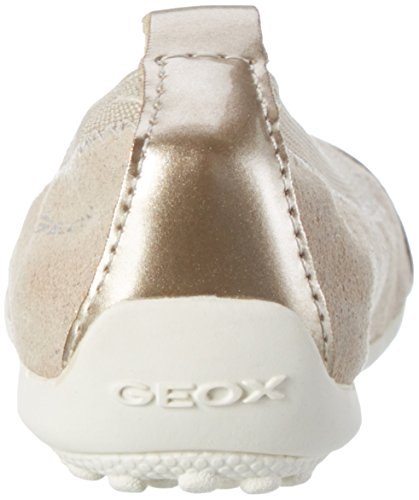 Geox Jr Piuma Ballerine B, Bailarinas Niñas Beige (Beigec5000)