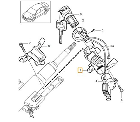 Amazon Com Genuine Volvo Steering Ignition Switch Column Lock