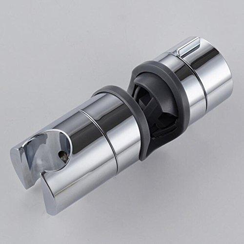 Homeself 18-25 mm réglable ABS de rechange Main Support de douche pour barre coulissante