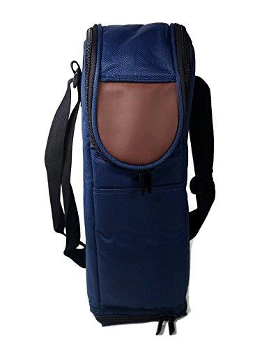 Flexi-Freeze Wine Bottle Cooler Tote, Freezable Zipper Close Bag