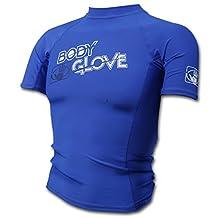 Body Glove – Basic Rash Guard for Boys – Short Sleeves – Swimwear – Nylon/Spandex
