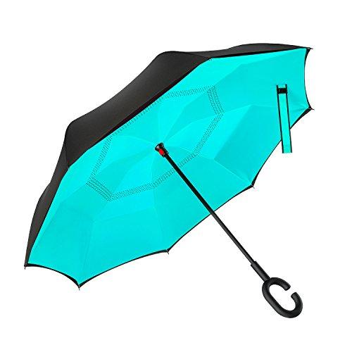 Ylovetoys Inverted Umbrella Windproof Reverse product image