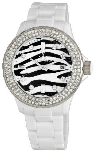 Toy Watch Women's TZ52008-WH Zebra Diamond Collection Watch