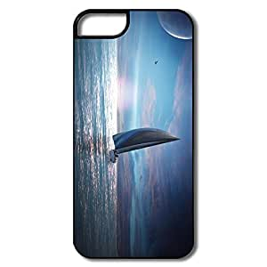 Custom Make Love Most Protective Sailing Boat Night IPhone 5/5s Case For Couples