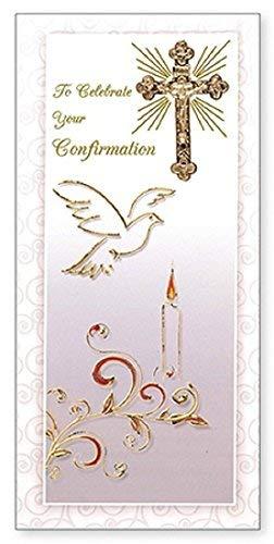 Confirmación Day Tarjeta de felicitación - paloma, Biblia ...