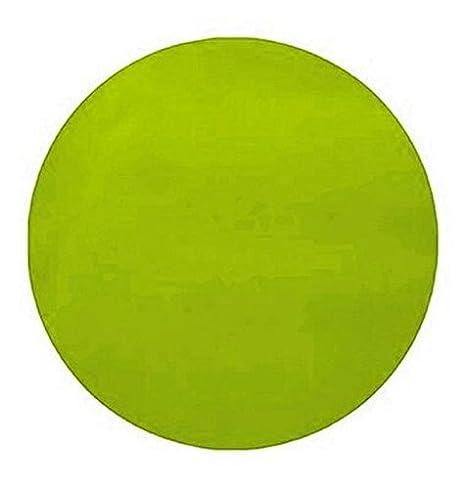 Chal Mural 50 manteles individuales de mesa redondas verde ...