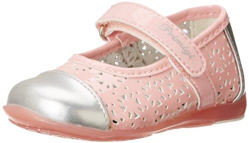 Metallic Patent Footwear (Primigi Igina 1 Ballet Flat (Toddler/Little Kid),Pink/Silver,21 EU(5 M US)