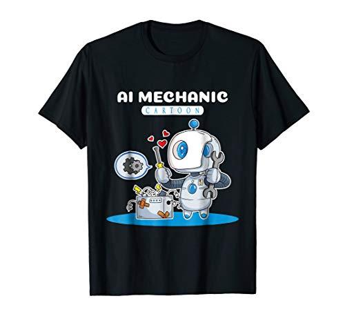 (Mechanics Aircraft Mechanics Shirt Technician Robotic Gift)