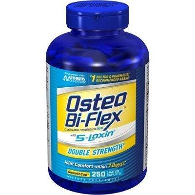 Osteo Bi-Flex Double Strength avec 5 Loxin SmoothCap - 250 Comprimés enrobés
