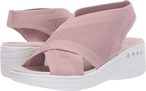 Easy Spirit Women's Blast 2 Slip-On Wedge Sandals Medium Pink 11 M