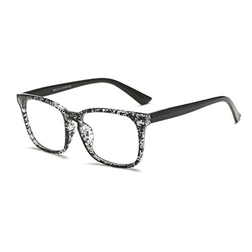 de Gafas lentes transparentes for cuadradas C4 Women FuyingdaGlasses Men de Gafas 2 plástico nqxUXq80w