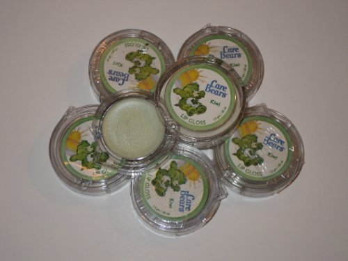 Care Bears Good Luck Bear Kiwi Lip Balm Gloss 6 Pack