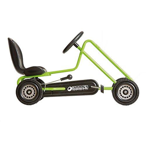 41FnbksFvWL - Hauck Lightning Pedal Go-Kart - Race Green