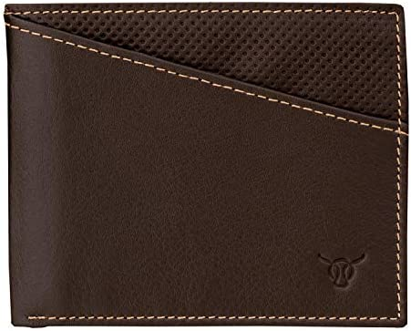 NEW Luxury RFID Blocking ULTRA Luxury Brown Leather Credit Card Holder Boxed