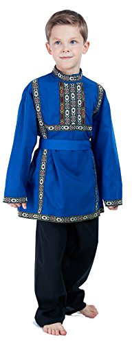 Russian Boys Traditional Clothing Costume dress -