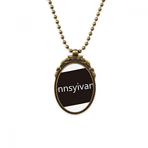 DIYthinker Pennsylvania USA Map Silhouette Antique Brass Necklace Vintage Pendant Jewelry Deluxe Gift ()