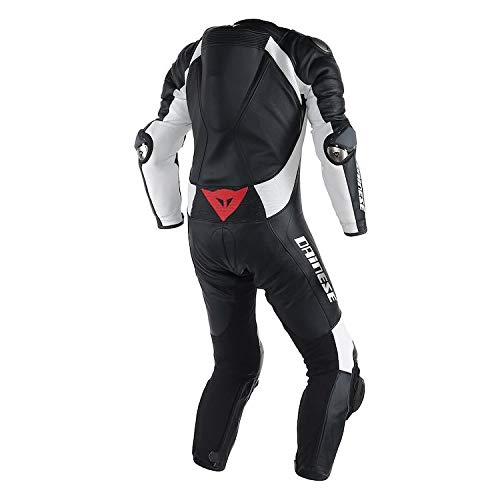 Dainese D-Air Misano Perforated Race Suit/Euro 48 / Black/Black/White
