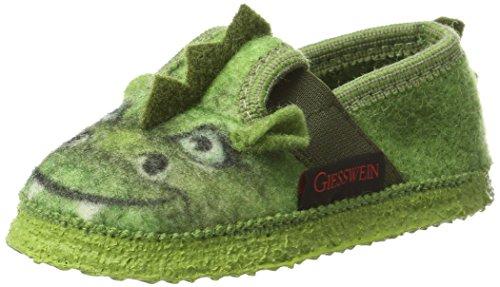 Giesswein Toddin, Zapatillas de Estar por Casa para Niños Verde (Gras)