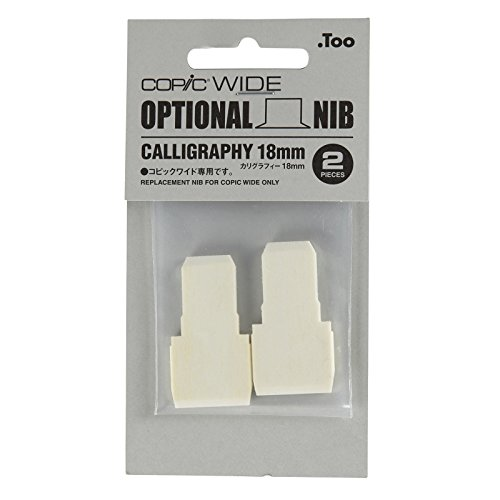 Copic Markers Broad Calligraphy Nib