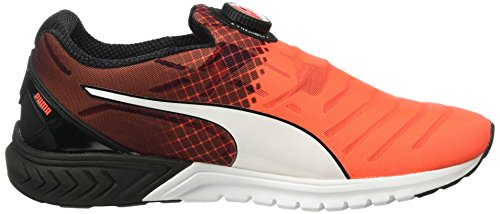 Puma Ignite Dual Disc Scarpa da Running Unisex – Adulto Rosso (Red/Blk/Whit 01red/Blk/Whit 01)
