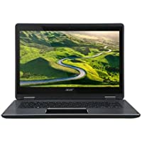 Acer Aspire R5-471T-53MJ 14 Full HD Touchscreen 2-in-1 IPS Laptop, Intel Core i5-6200U 2.30GHz (3M Cache, with turbo up to 2.80 GHz), 8GB RAM, 128GB SSD, Windows 10 Home, black