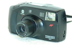 Minolta Freedom Zoom 90ex Qd 35mm Film Camera W/minolta Lens Zoom 38-90mm 1:3.5-7.7 Lens (35mm Film Camera, Black Color, Made in Japan) from Minolta