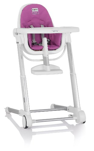 Inglesina Zuma Highchair, White/Fuchsia